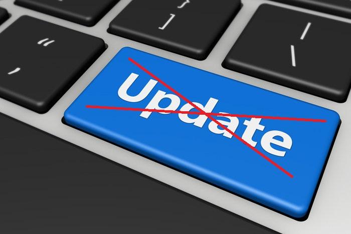 Do not update yet!